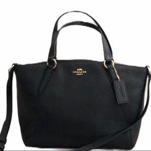 Coach Pebble Leather Mini Kelsey Handbag F28994